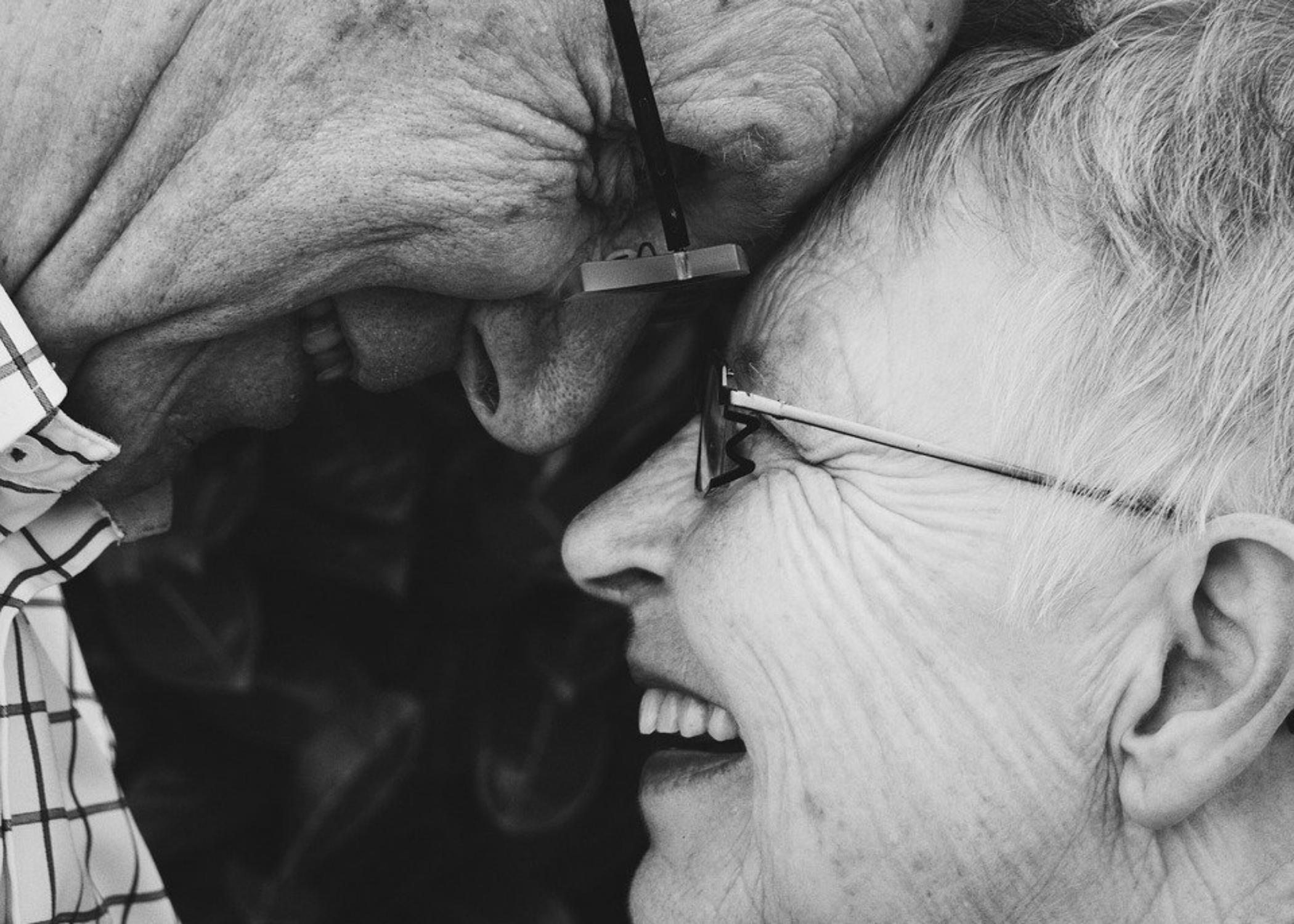Happy Elders with companionship